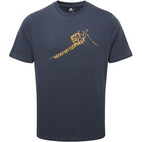 Mountain Equipment Yorik Kortærmet T-shirt Herrer blå